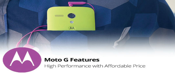 Motorola Moto G Smartphone launches in India for 8 and 16 GB