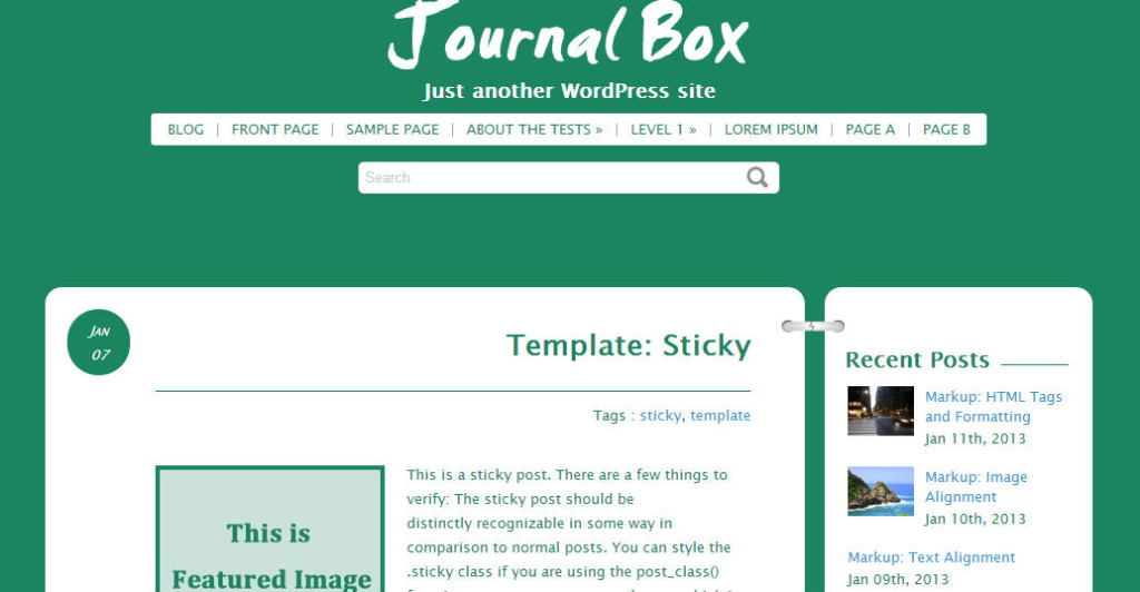 Free-Wordpress-Themes-Journal-Box