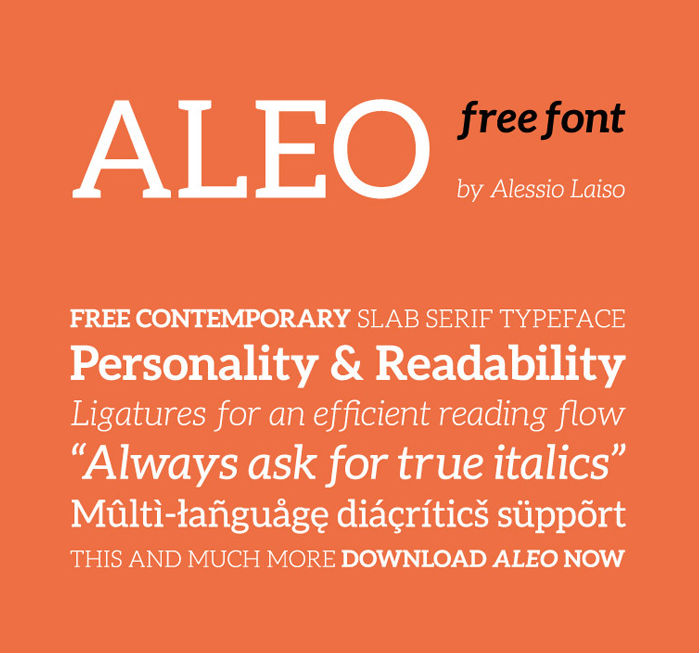 aleo-free-font