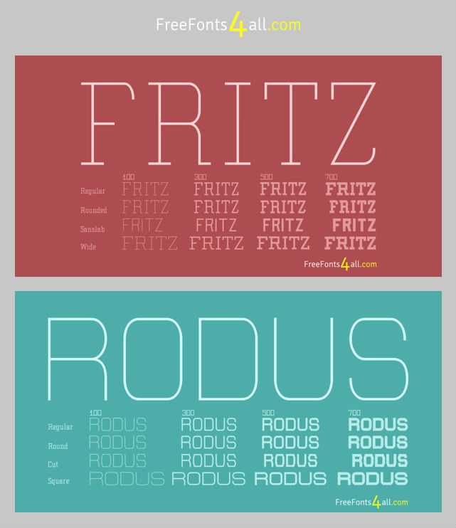 fritz-and-rodus-free-font