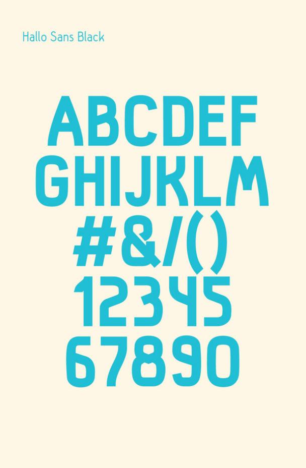 hallo-sans-free-font01