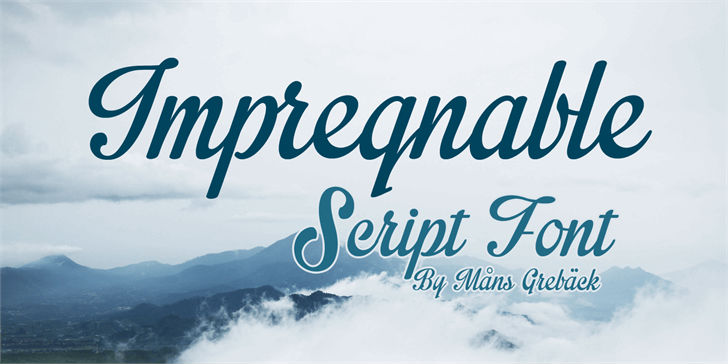 impregnable-free-font