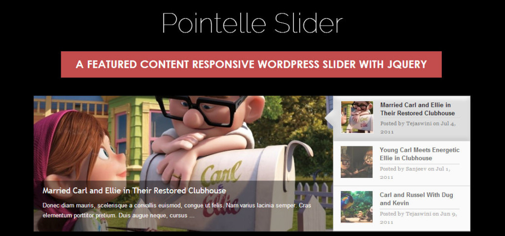 45 of the Most Popular Free and Premium Slider Plugins for