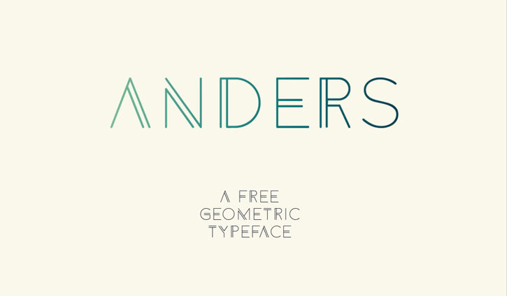 Anders-free-font