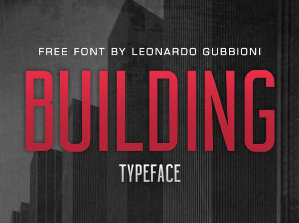 Building-free-font