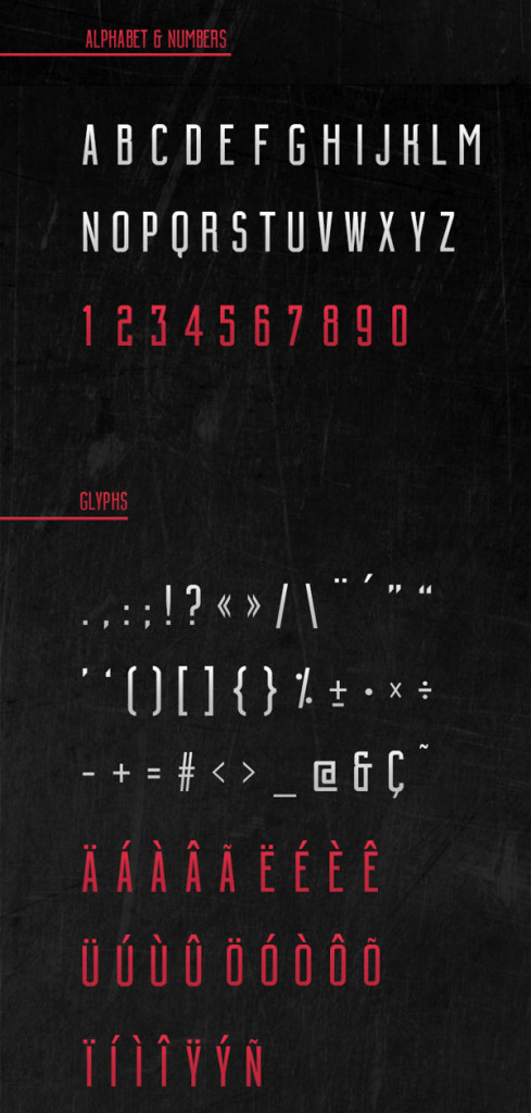 Building-free-font01