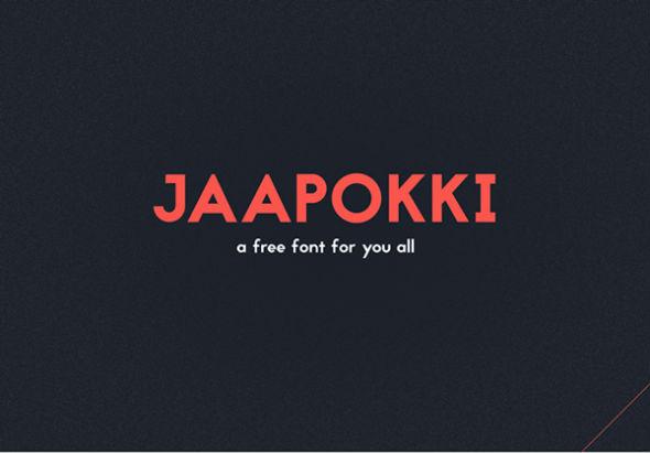 Jaapokki-free-font
