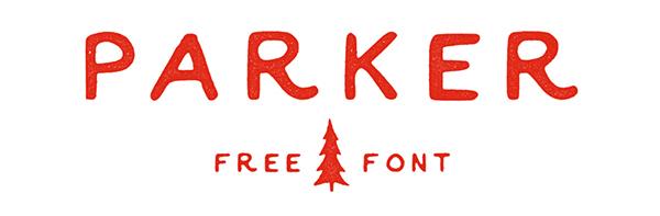 Parker-free-font