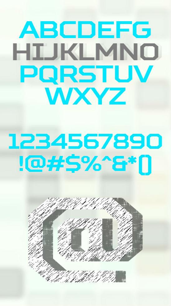 Squares-free-font01