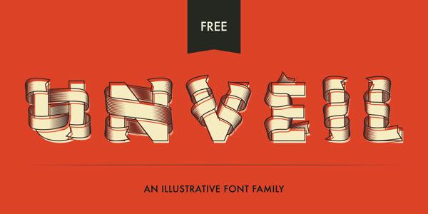 Unveil-free-font