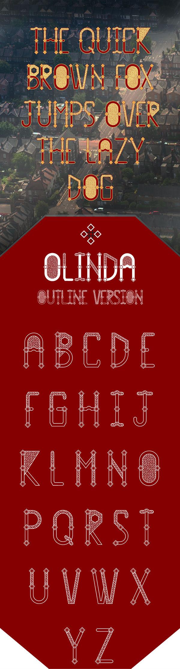 Olinda-free-font01