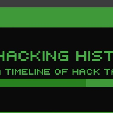 Hacking History: A Timeline of Hack Tactics – #Infographic