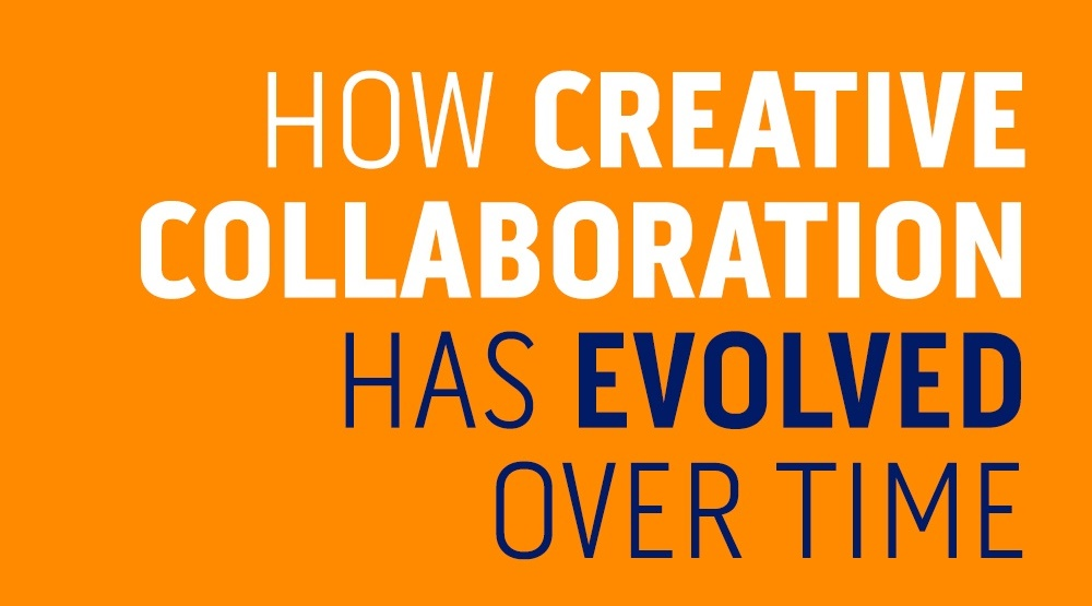 How Creative Collaboration Has Evolved Over Time [Infographic]