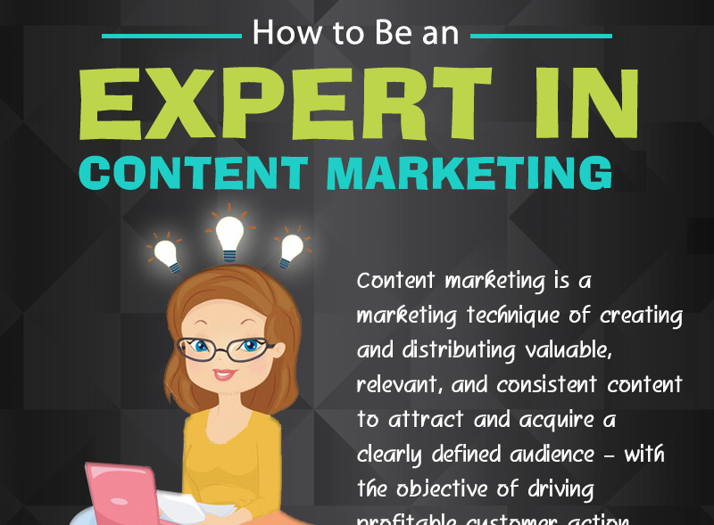 Infographic: How To Be An Expert In Content Marketing