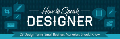 How To Speak Graphic Designer Cheat Sheet (Infographic)