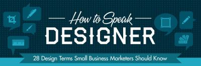 How To Speak Graphic Designer Cheat Sheet (Infographic)