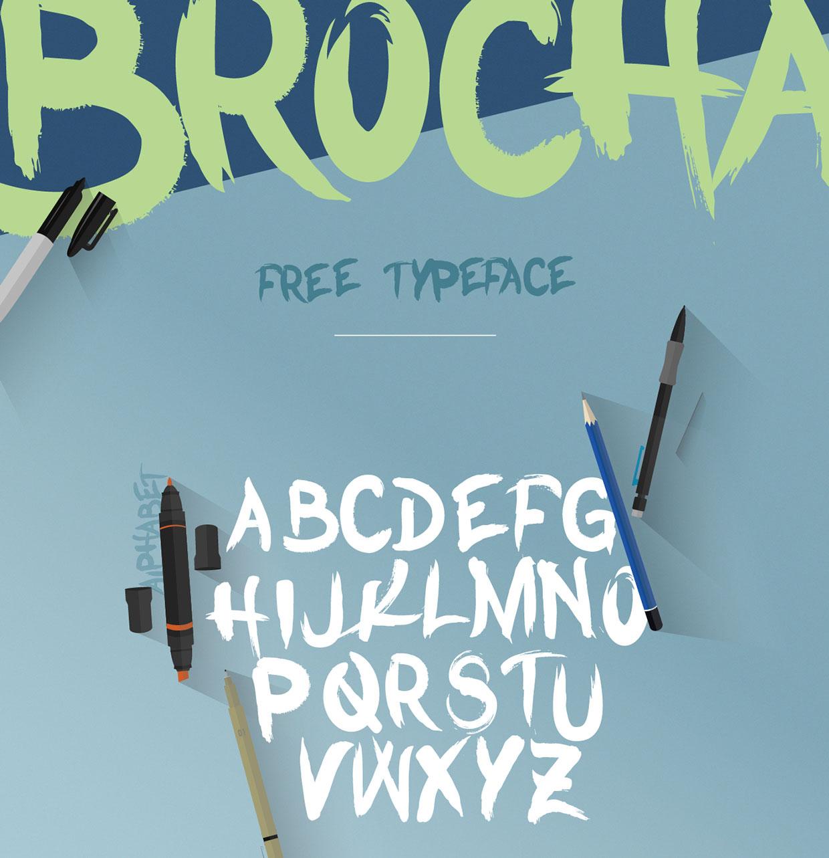brocha-free-font-064