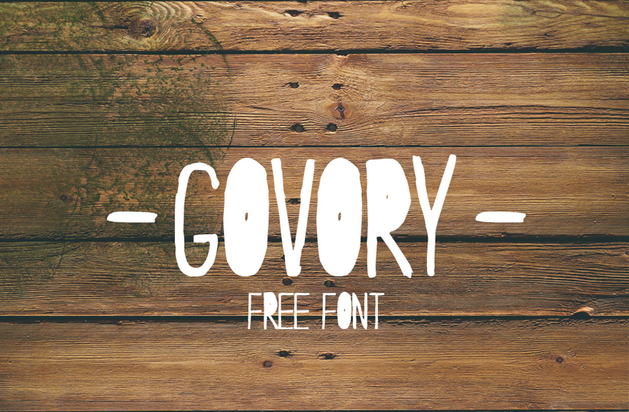 govory-free-font-077