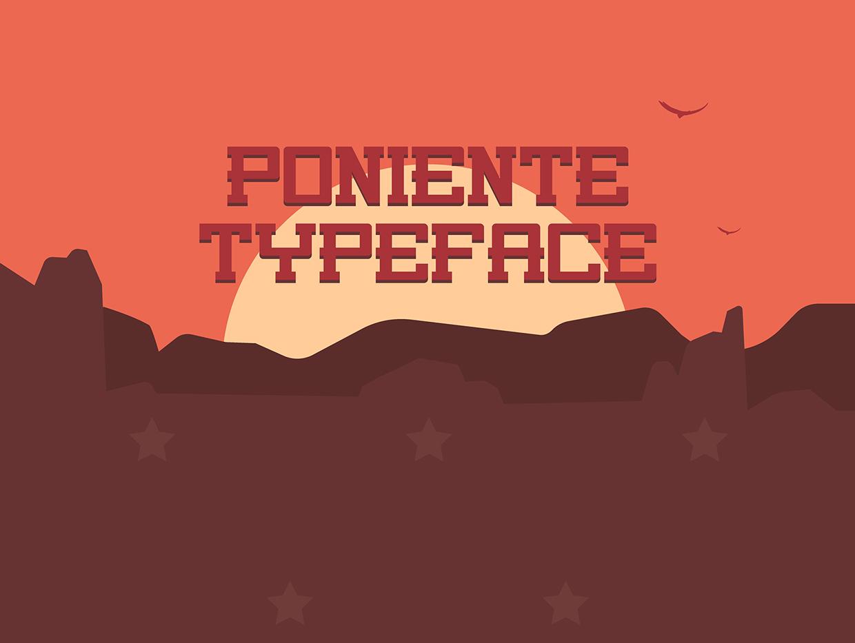 poniente-free-font-060