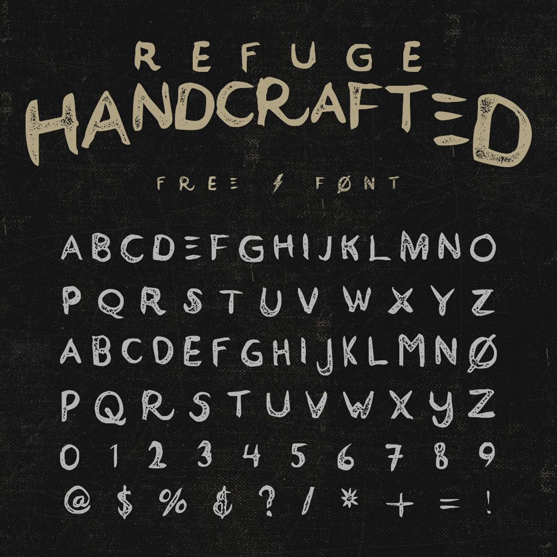 refuge-free-font-048