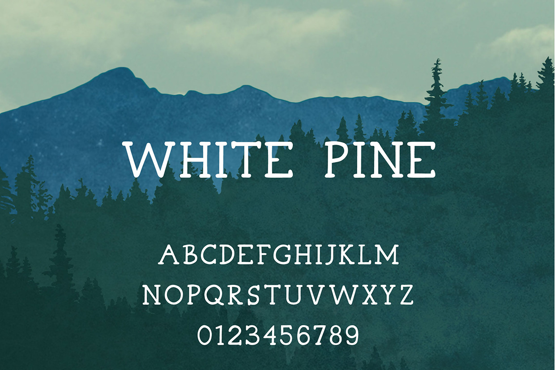 white-pine-free-font-080