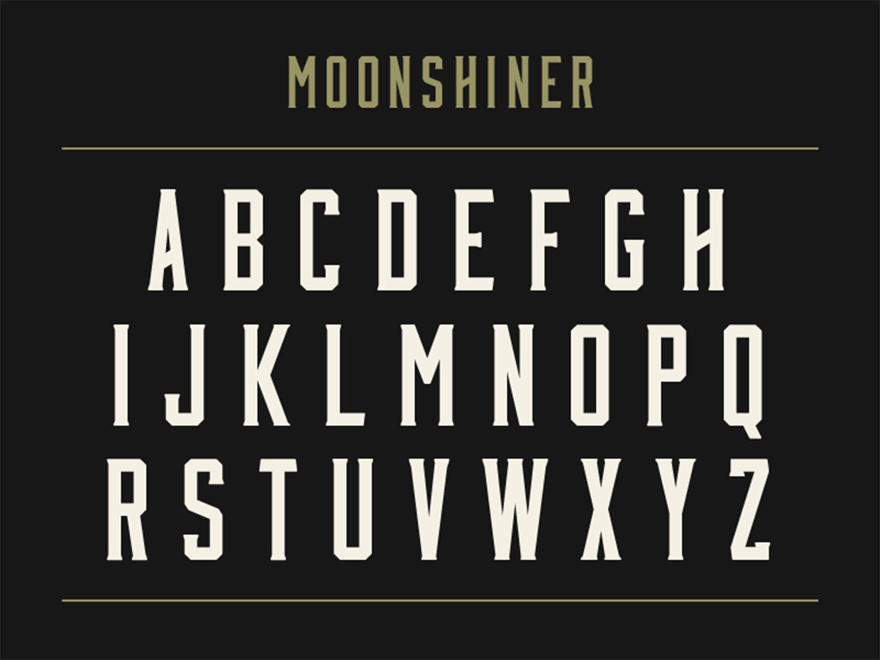 Moonshiner Best Free Logo Fonts 053