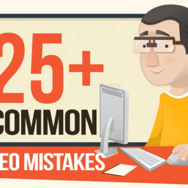 25+ SEO Mistakes You Need To Fix Right Now (Infographic)