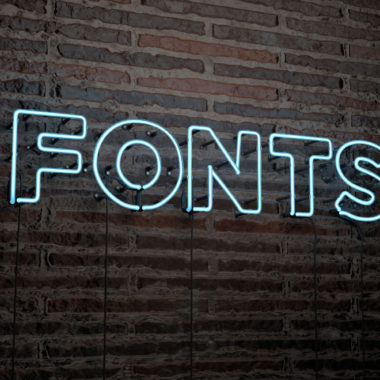 Tips for Choosing a Logo Font