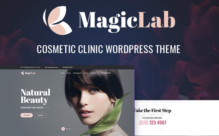 magiclab-cosmetic-and-beauty-clinic-elementor-wordpress-theme